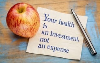 Your Health is an investment; not an expense